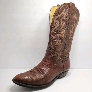 Nocona | Brown Leather Cowboy Western Tall Boots